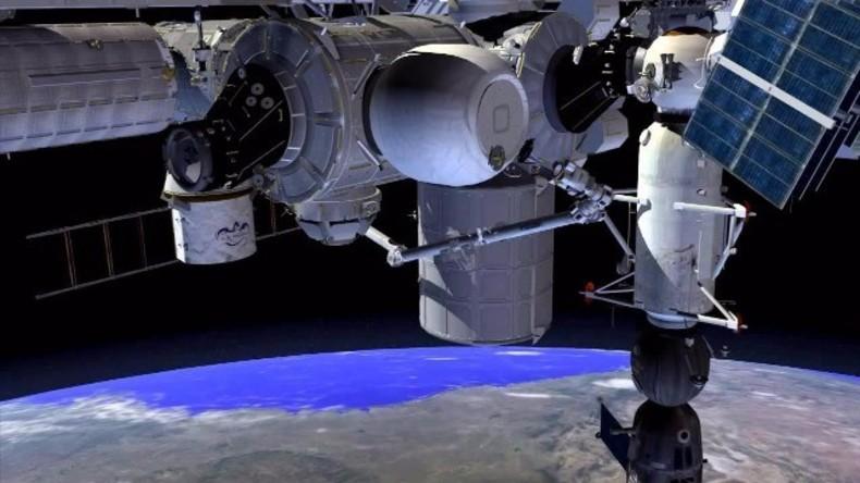 Live: Weltraumstation ISS testet BEAM-Modul