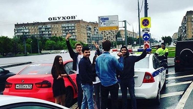 Verfolgungsjagd auf Moskaus Straßen – Millionärs-Spross liefert sich Rennen mit der Polizei