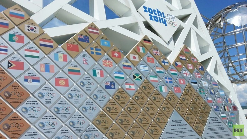 Im Olympischen Park - Deutsche Austauschschülerin berichtet RT von ihrem Leben in Russland