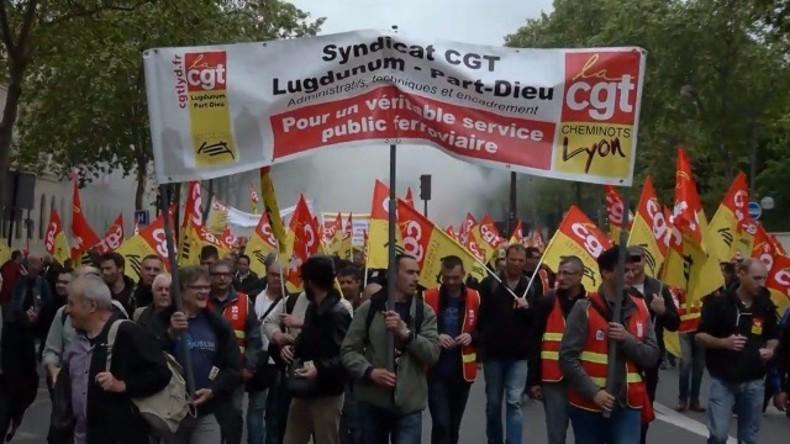 Live: Frankreichs Gewerkschaften setzen Proteste gegen Arbeitsmarktreformen in Paris fort
