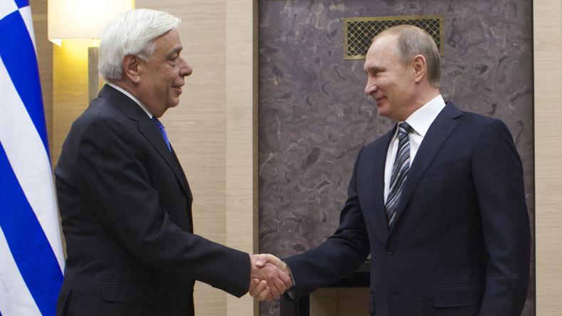 """""""Am Scheidepunkt"""" - Putin spricht vor Griechenlandbesuch über Beziehung zwischen Russland und EU"""