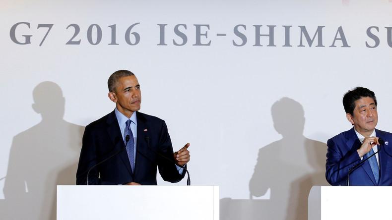 G7-Gipfel: China warnt Westen vor Einmischung im Südchinesischen Meer