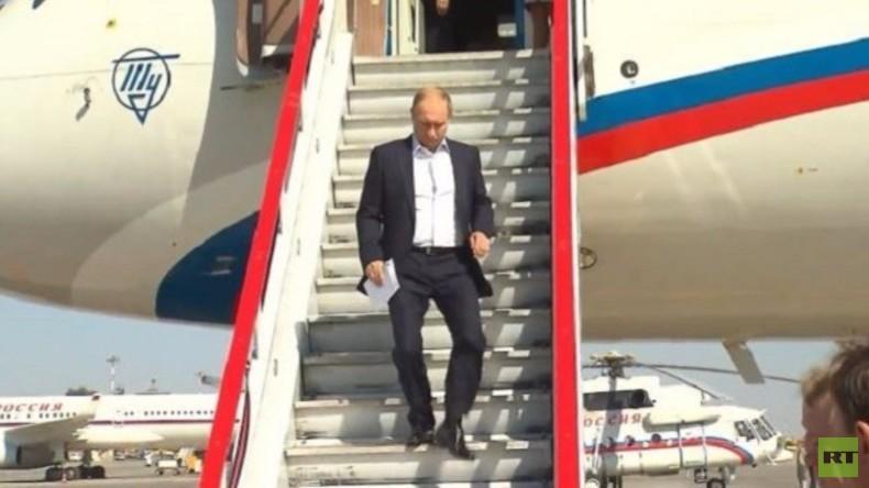 Live: Putin landet in Athen