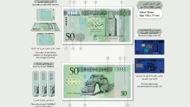 Libyen: Zentralbank lässt gegen Willen der USA ihr Geld in Russland drucken