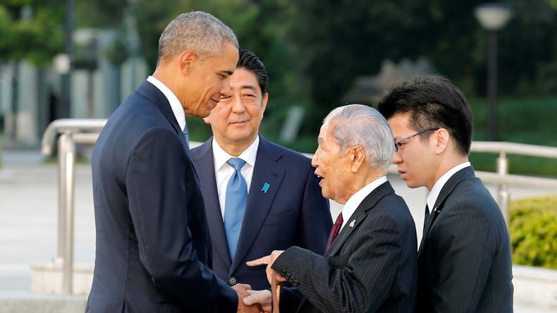 Barack Obama in Hiroshima - Keine Entschuldigung für Atombombenabwurf