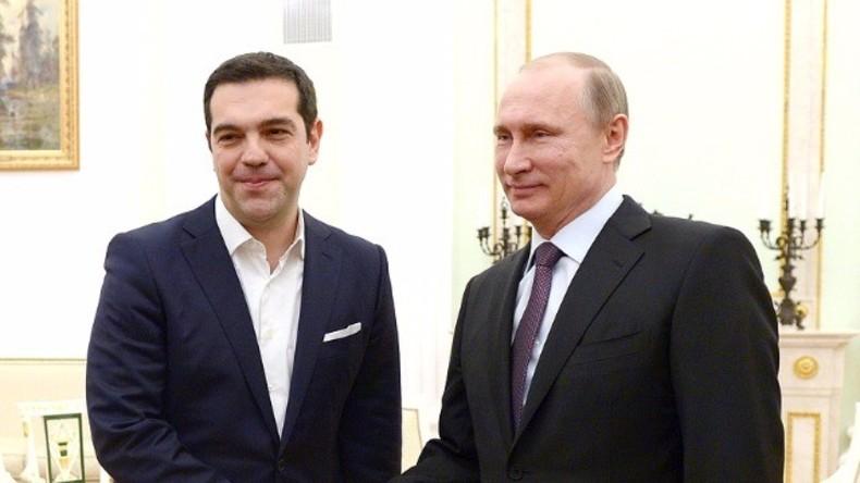 Live: Putin und Tsipras geben gemeinsame Pressekonferenz in Athen - englische Übersetzung