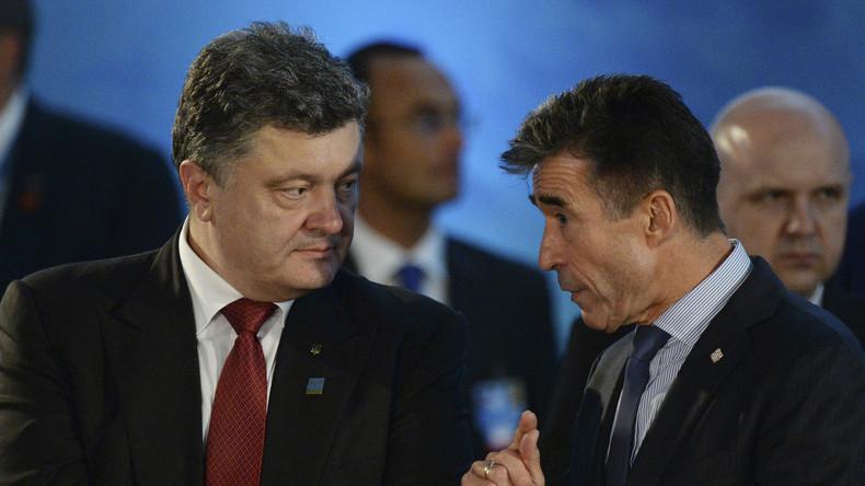 "Ehemaliger NATO-Generalsekretär Rasmussen heuert in Kiew als ""Sonderberater"" für Poroschenko an"