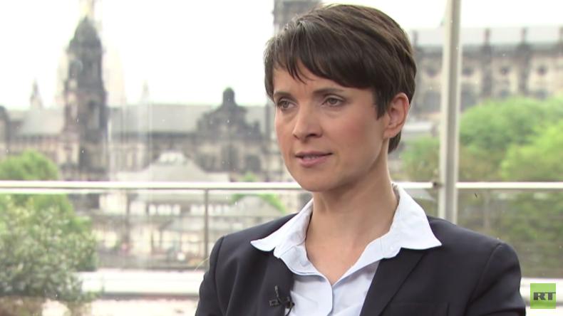 Afd-Sprecherin Frauke Petry im RT Deutsch-Gespräch
