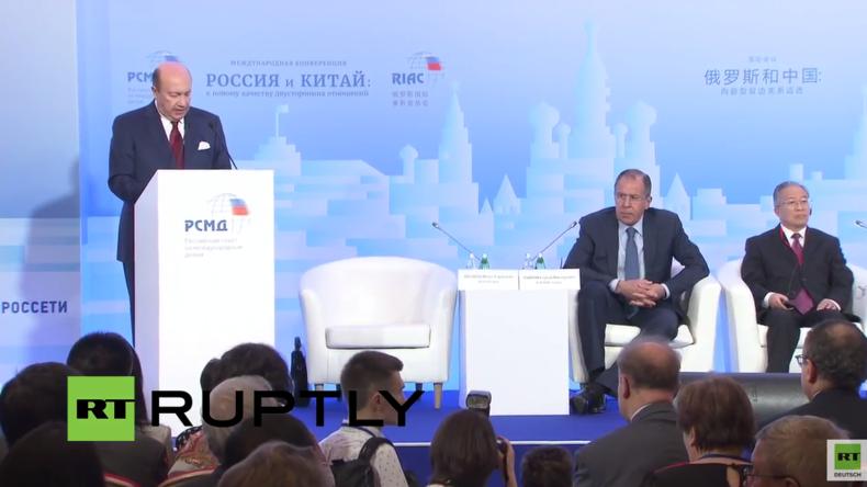 Live: Lawrow nimmt an Russland-China-Konferenz in Moskau teil
