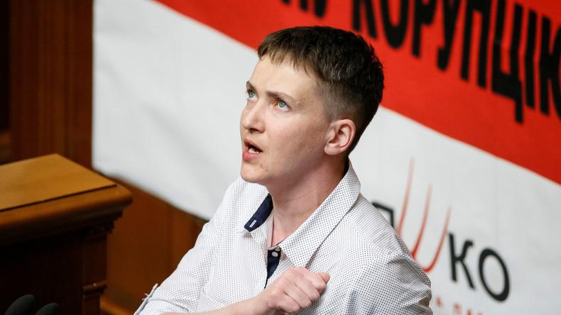 """Tatsachen und Hintergründe, die der Westen lieber ignoriert: Die """"ukrainische Heldin"""" Sawtschenko"""
