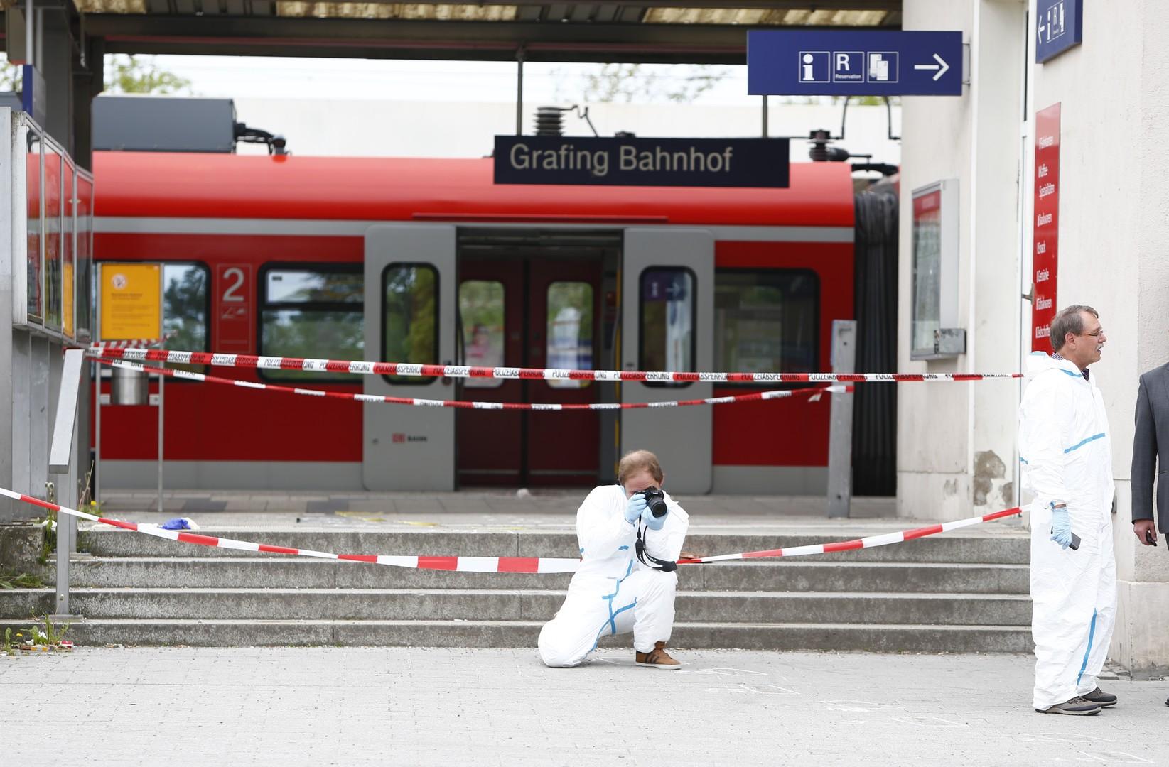 Angreifer an S-Bahnstation bei München hatte offenbar psychische und Drogenprobleme