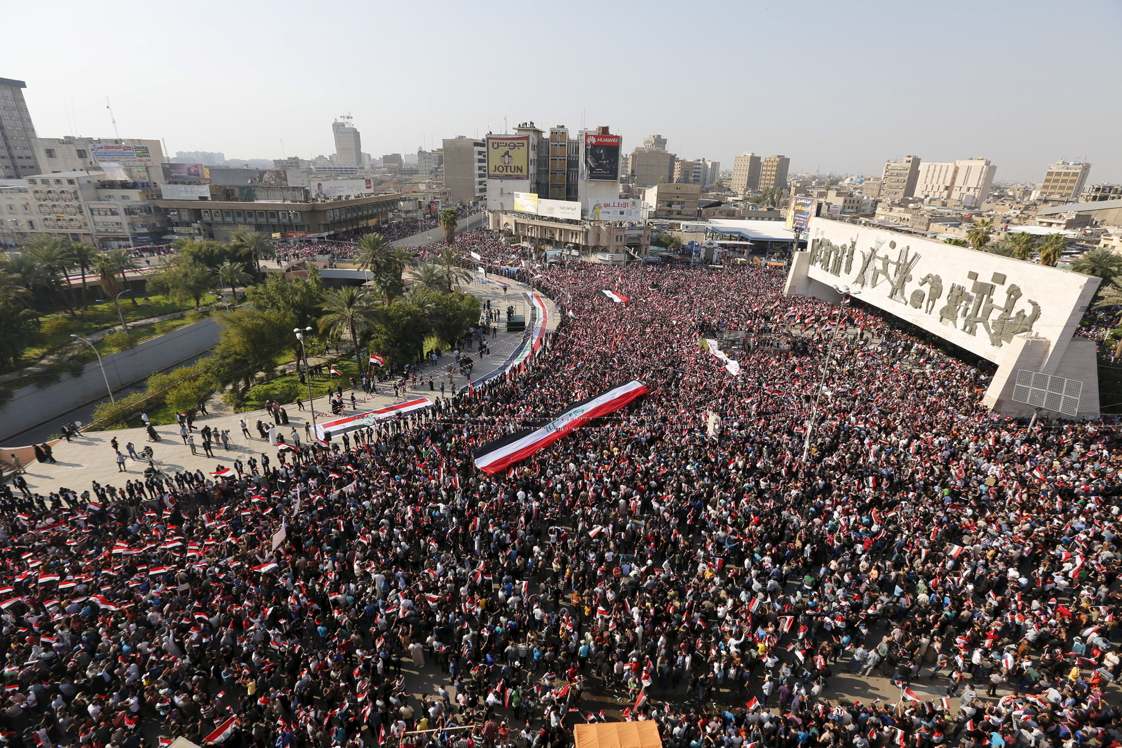 """Professor Sabah Alnasseri zum Aufstand gegen Korruption: """"Eine Revolution für den Irak"""""""