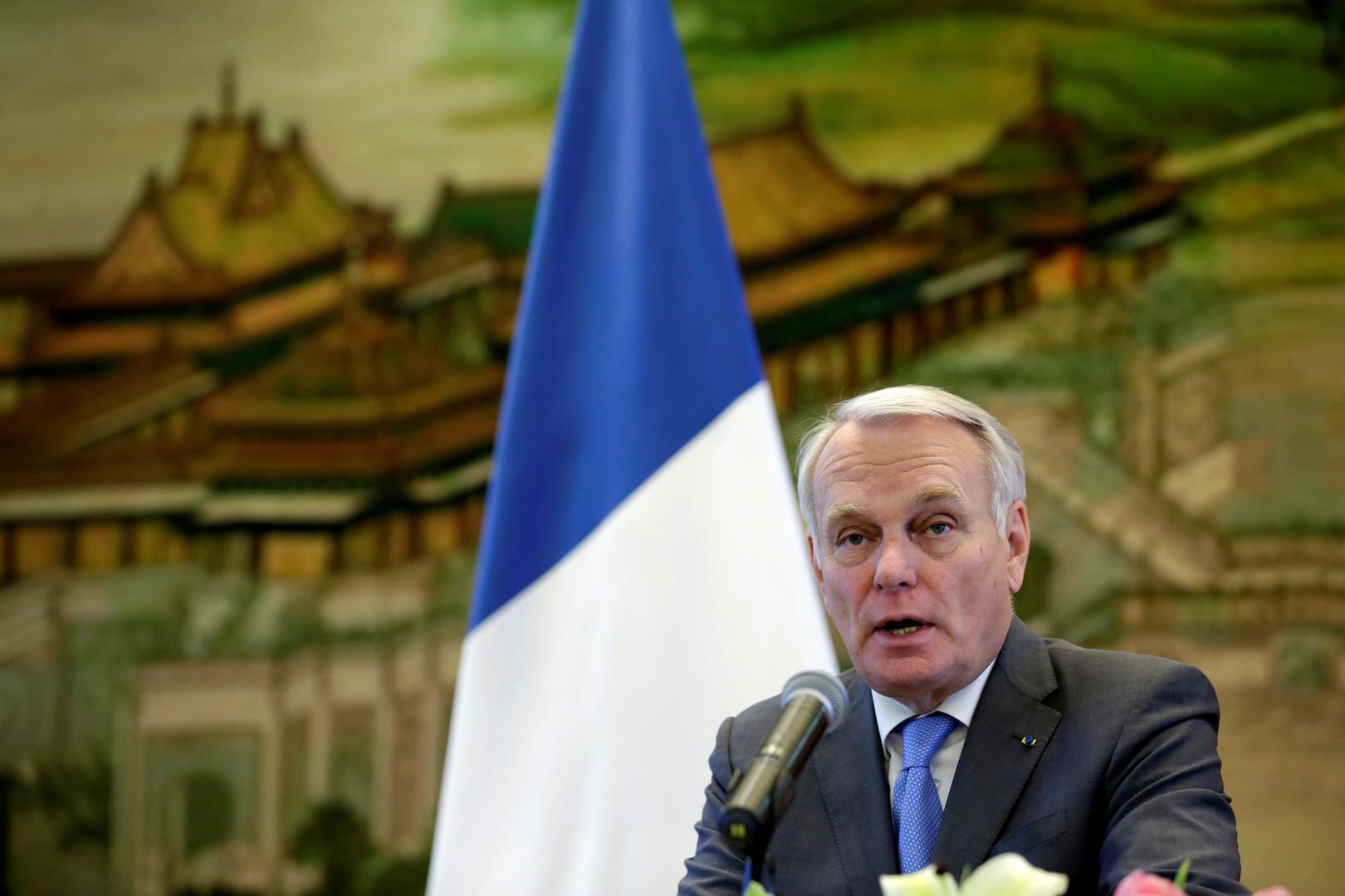 Der französische Außenminister Jean-Marc Ayrault