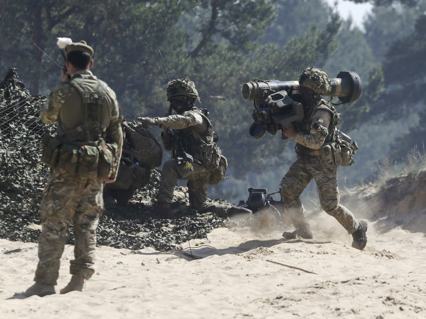 NATO-Militärmanöver Saber Strike.