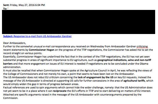 Hinter den Kulissen brodelt es: Phil Hogans E-Mail an die EU-Botschafter der Mitgliedsstaaten