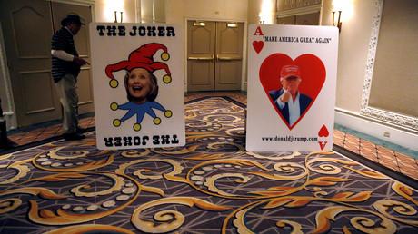 Stilecht fand der Parteikonvent der Demokraten in Nevada in einem Casino statt