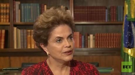 """Dilma Rousseff: """"Das Volk wird keine durch Erpressung geschaffene Regierung akzeptieren"""""""