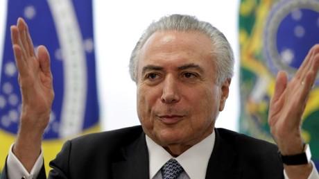 Brasiliens Übergangspräsident Michel Temer