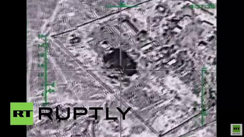 Syrien: Russische Luftangriffe zerstören IS-Ölanlagen - Russisches Verteidigungsministerium
