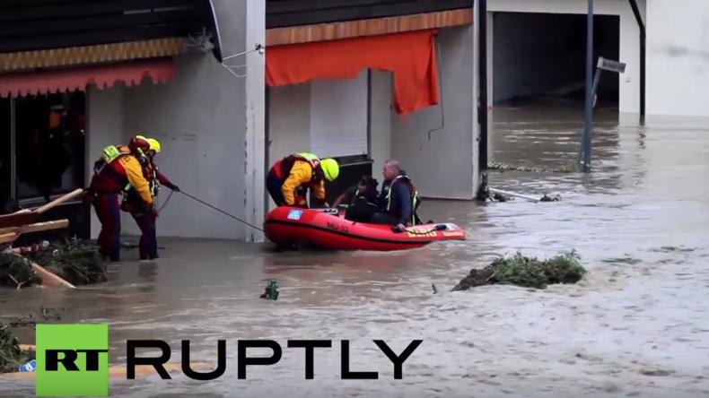 Die nächste Wetterkatastrophe in Süddeutschland: Hochwasser tötet mindestens fünf Menschen