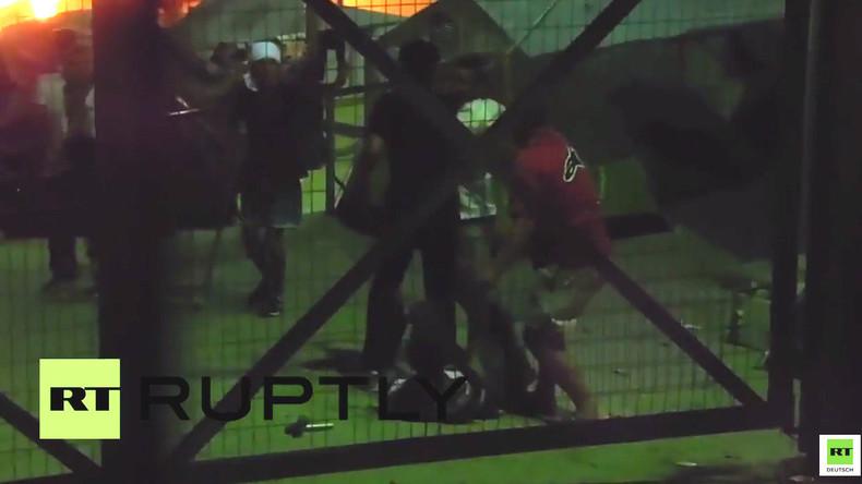 Griechenland: Heftige Massenschlägerei in Flüchtlingslager – Schwerverletzte und Verhaftungen
