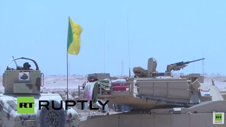 Live: Kampf um Falludscha - Irakische Armee setzt Angriffe gegen den IS fort