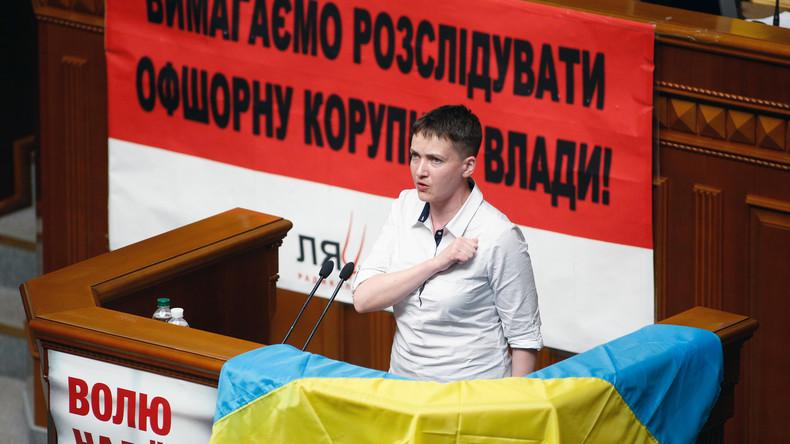 Rada-Abgeordneter in Kiew: Putin hat uns mit Freilassung von Sawtschenko einen Umsturz untergejubelt