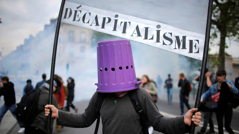 """Philosoph Michel Onfray zu RT: """"Frankreich ist in einer Patt-Situation und kurz vor dem Bürgerkrieg"""""""