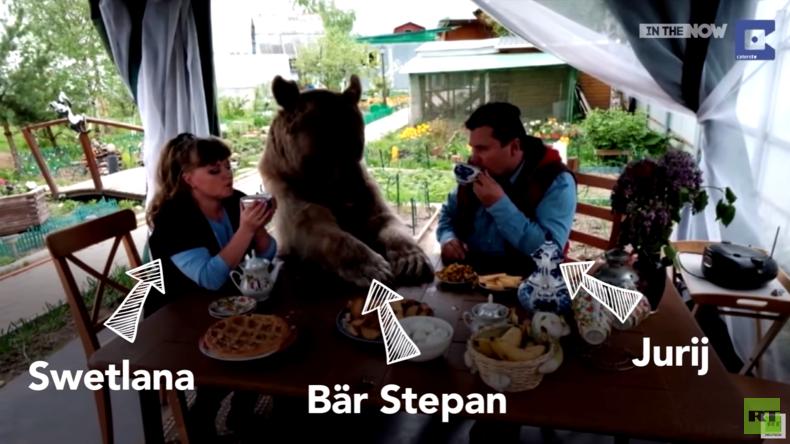 Eine ganz normale russische Familie – Swetlana, Jurij und Stepan der Bär