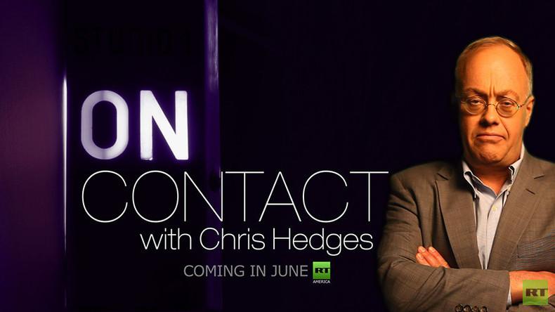 """In Kürze bei RT: Pulitzer-Preisträger Chris Hedges präsentiert seine neue Show """"On Contact"""""""