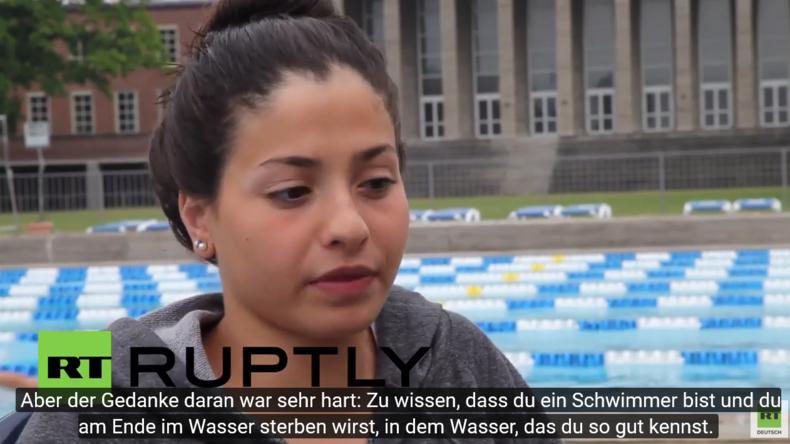 Berlin: Syrische Schwimmerin ins Flüchtlings-Olympia-Team gewählt
