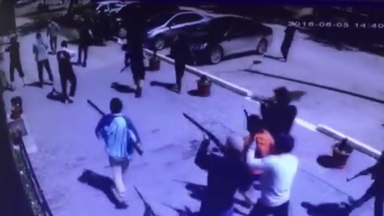 """Nach Anschlagsserie mit sechs Toten in Kasachstan: Terrorwarnstufe """"Rot"""" in Aqtöbe"""