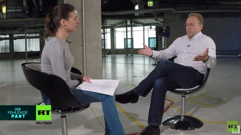 """""""In der Ukraine gibt es keine Opposition"""" – Das gesamte Interview mit Vasily Volga"""