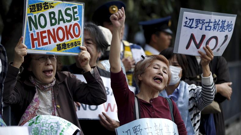 """""""Zeichen gegen Besatzung"""" - Bei Wahlen auf Okinawa gewinnen die anti-amerikanischen Kandidaten"""