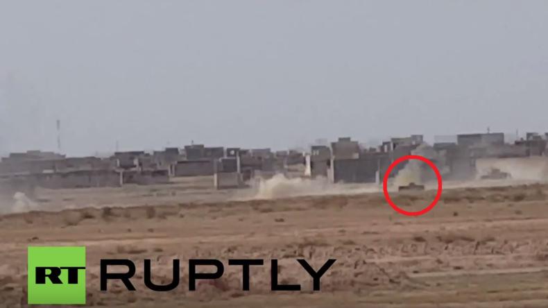 Irak: Irakische Armee eliminiert IS-Selbstmordattentäter kurz vor Anschlag in Falludscha