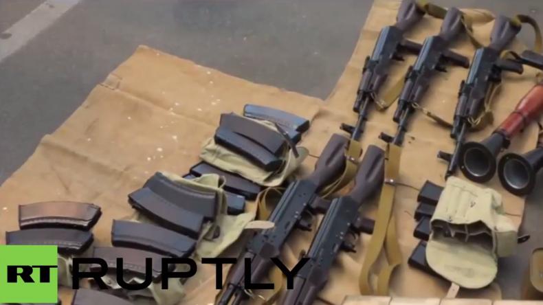 Ukraine: Schwerbewaffneter Franzose wegen angeblicher Planung von EM-Attentaten an Grenze verhaftet