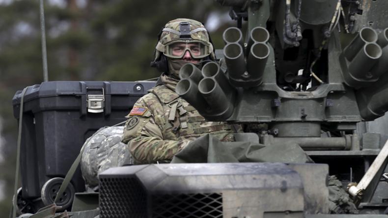 US-Militär im Baltikum: Kontrolle über NATO- und EU-Länder stärken