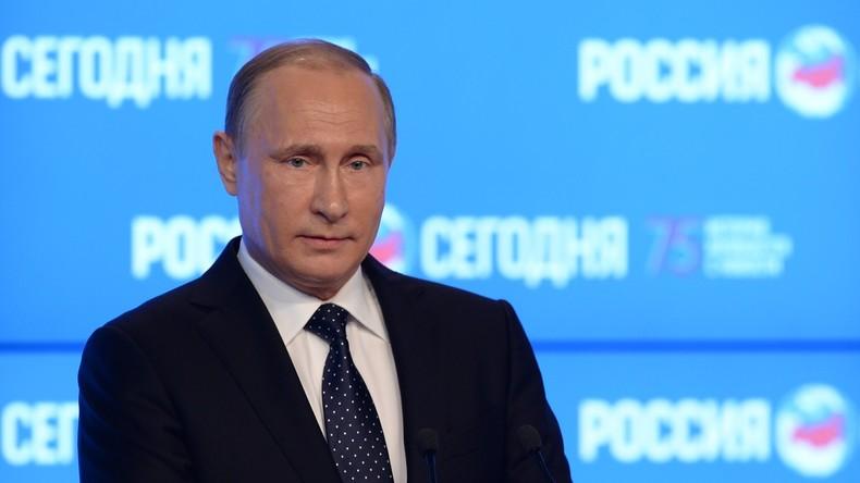 """Wladimir Putins Ansprache auf dem internationalen Medienforum """"Abschied vom Mainstream"""""""