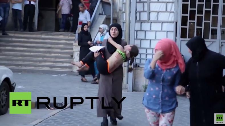 Syrien: Mindestens 20 Tote nach erneutem Angriff der al-Nusra Front in Aleppo [Verstörende Bilder!]