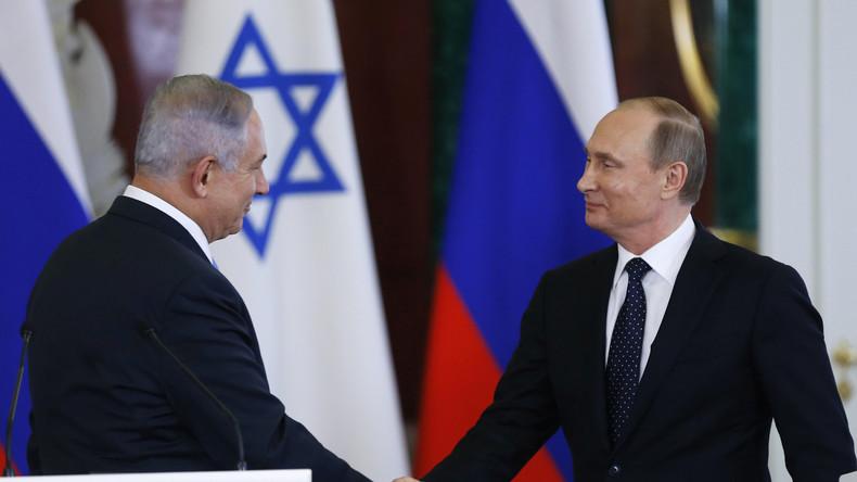 """Putin nach Netanjahu-Besuch: """"Ich begrüße sehr die Normalisierung zwischen Israel und der Türkei"""""""