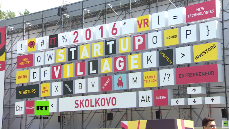 Startup Village 2016: RT-Deutsch auf Russlands größter Start-up Konferenz