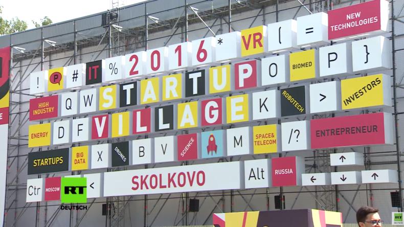 Startup Village 2016: RT-Deutsch auf Russlands größter Start-up Konferenz