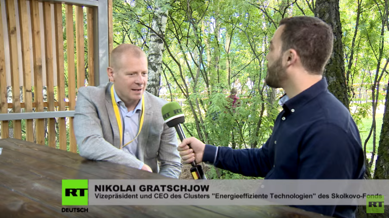Startup Village 2016: Nikolai Gratschjow über russische Startups in Zeiten der Wirtschaftssanktionen