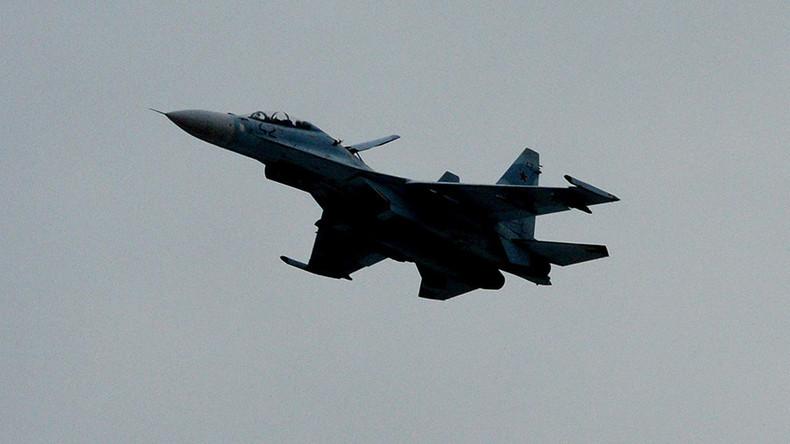 Russland: Jagdflugzeug Su-27 bei Moskau abgestürzt - Pilot tot [Video]