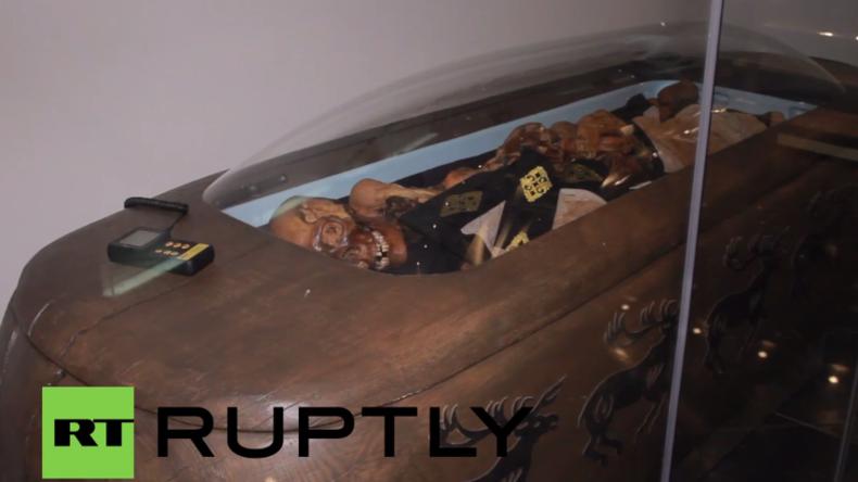Russland: 2.500 Jahre alte und tätowierte Mumie wird erstmals in Museum ausgestellt
