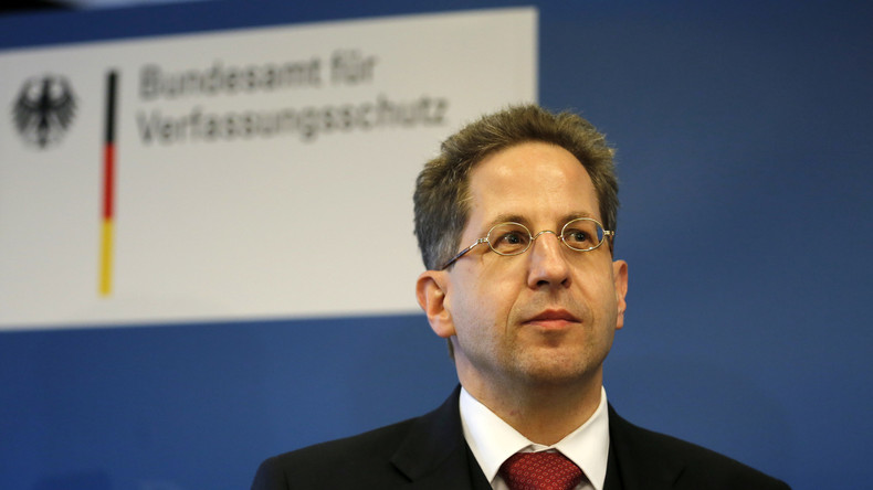 Georg Maaßen, Präsident des Bundesamtes für Verfassungsschutz vermutet fremde Mächte hinter den Enthüllungen von Edward Snowden