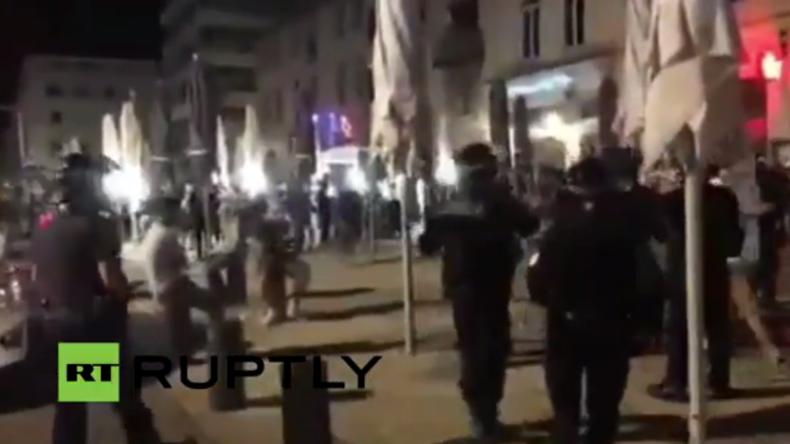 Live vom Alten Hafen in Marseille - Nach dem Spiel zwischen England und Russland