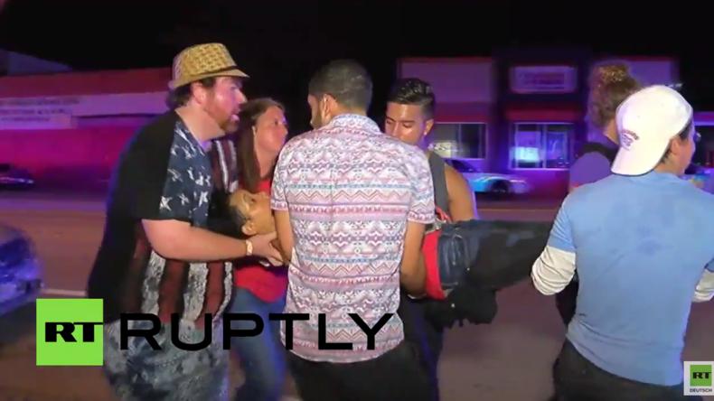 USA: Video zeigt Evakuierung Verletzter nach Massenerschießung in Gayclub in Orlando