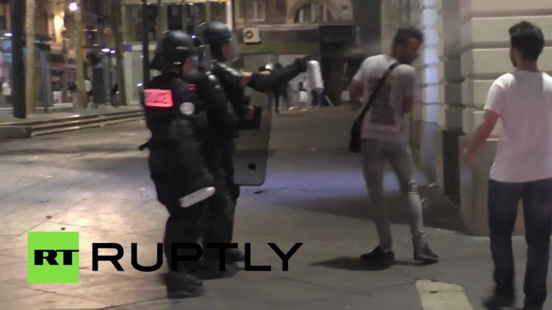 Nach ENGRUS-EM-Spiel folgen Schlägereien im Alten Hafen von Marseille – Mindestens 35 Verletzte