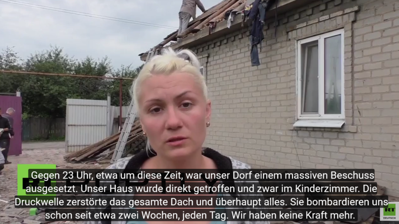 Ukraine: OSZE inspiziert Zerstörung nach schwerem Beschuss in Makijiwka in der Region Donezk
